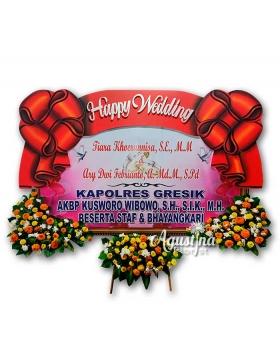 papan bunga pernikahan surabaya 06
