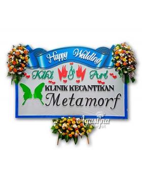 7 papan bunga pernikahan surabaya
