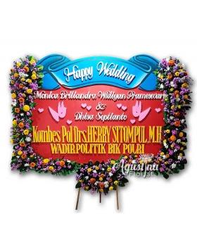 10 papan bunga pernikahan surabaya