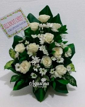 bunga meja surabaya bunga segar 01