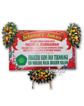 papan bunga selamat sukses surabaya 05