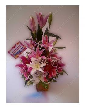 bunga-meja-surabaya-tiger-lily