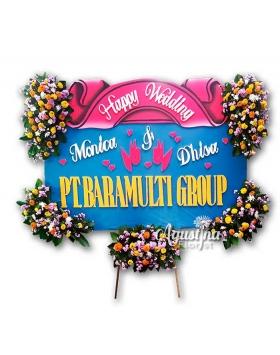12 papan bunga pernikahan surabaya