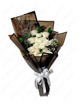 handbouquet-mawar-putih-surabaya2